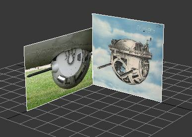 In 3ds Max use ball turret background pictures as references