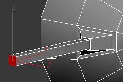 Extrude poly to make gun
