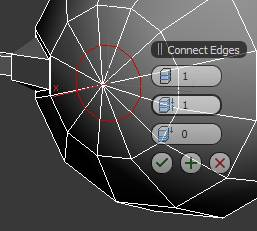 Create edge loop with Connect
