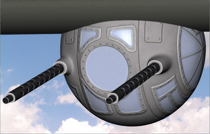 Model a WWII Ball Turret in 3ds Max