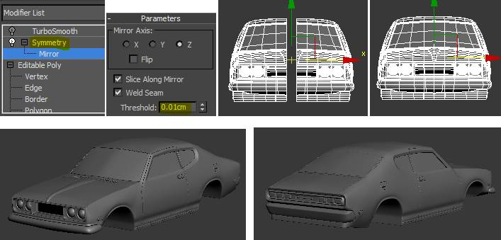 3ds max car tutorial tutorial bone yard below are the links for all the other 3ds max tutorials in this series check em out they cover all the steps to finishing this model including the final malvernweather Images