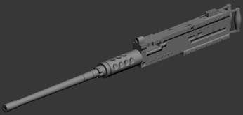 model with normal map