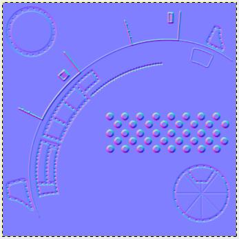 The Gimp Normal Map Filter