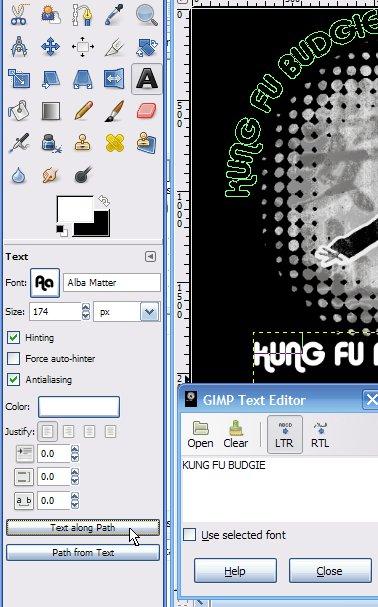 Gimp logo tutorials tutorial bone yard ccuart Image collections