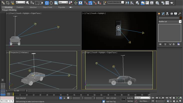 3ds Max Camera Setup & Mental Ray Lighting Tutorial in 3ds Max | Tutorial-Bone-Yard azcodes.com