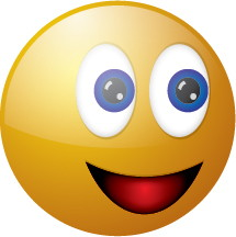 3D Smiling Face Emoticon