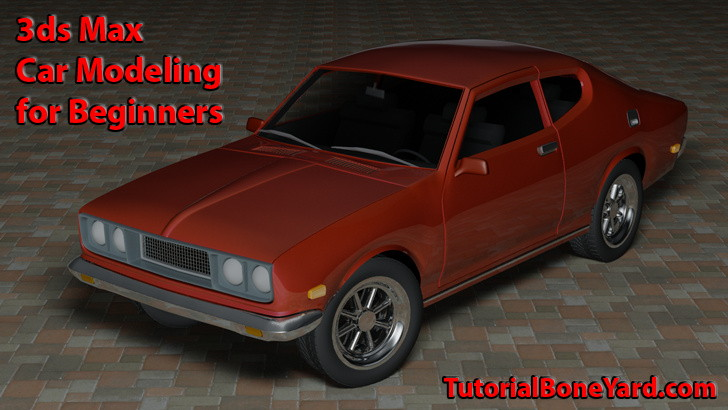 3ds Max Car Modeling